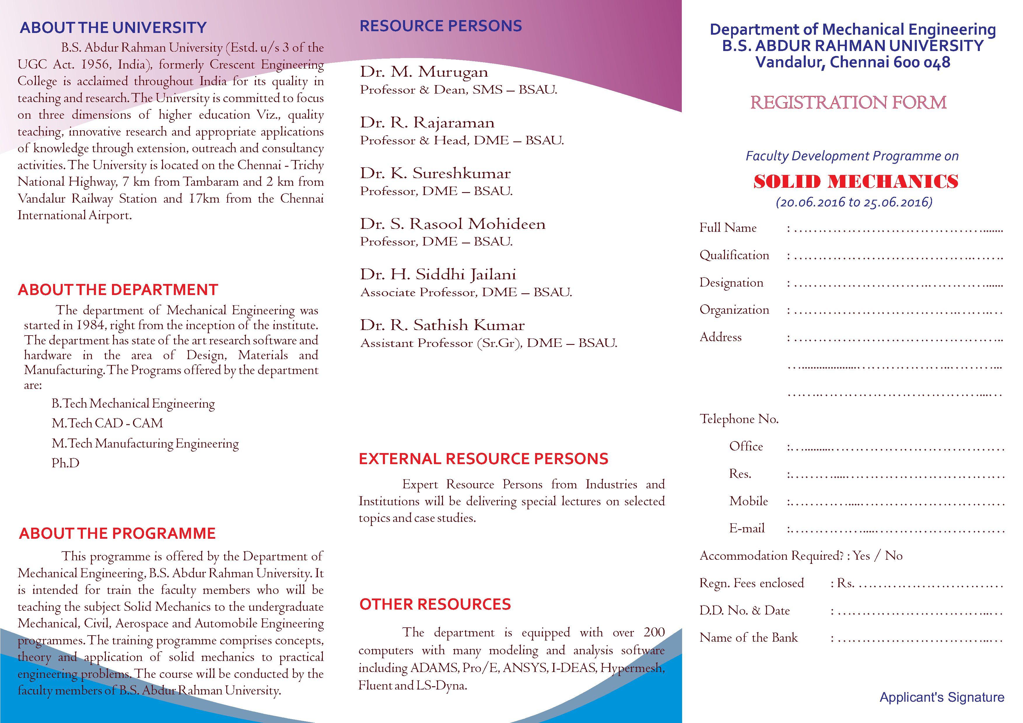 Crescent University Chennai Ug Pg Courses